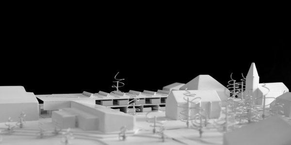 Concours pour l'extension de l'école de Meinier - Autour d'une cour