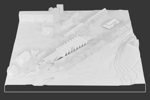 Concours ''Aigle, espace événements des Glariers'' - Entre deux murs