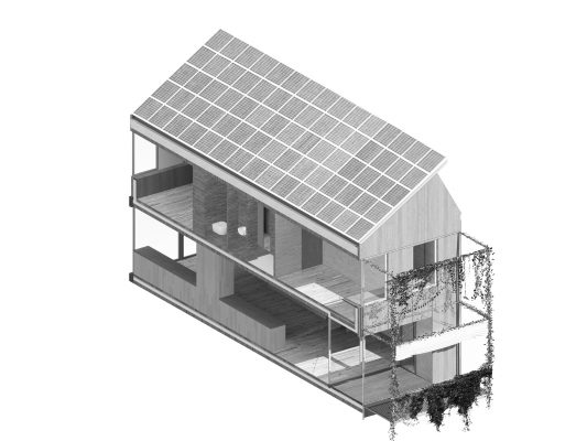 Concours pour l'éco-quartier du Stand - Maisons Vertes