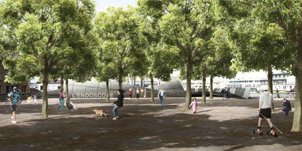 Concours pour le Bastion Saint-Antoine: Mise en valeur du site archéologique et aménagement - L'Endoscope