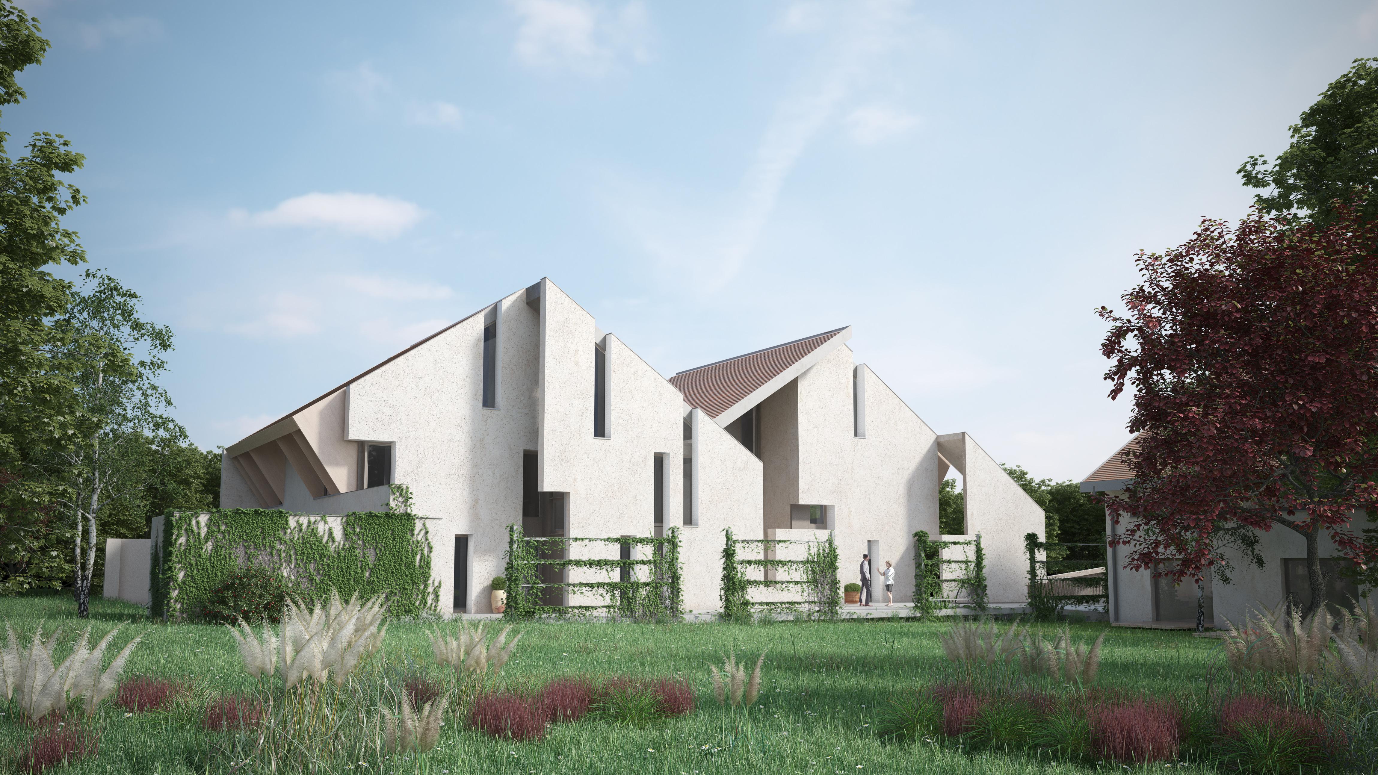 Quatre Maisons autour d'une Cour, Gland - Mise en vente & prochaine ouverture de chantier